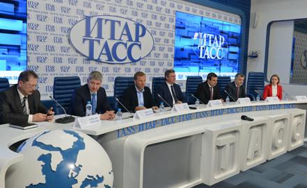 Пресс-конферения МТС, Мегафон и Блайн в ИТАР-ТАСС