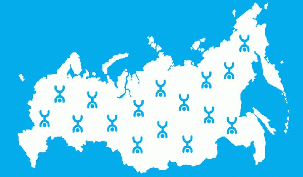 Карта покрытия Yota – зоны покрытия сетей 2, 3 и 4G (LTE) на территории Российской Федерации