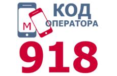 Сотовые операторы с кодом 918