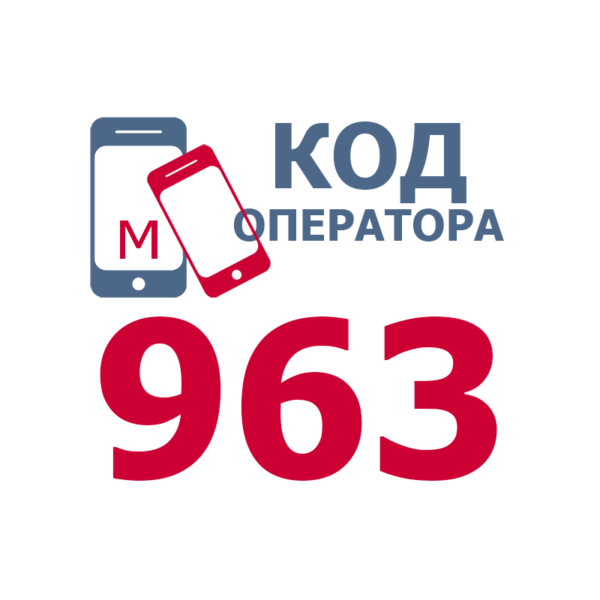 Российские операторы мобильной связи с кодом 963