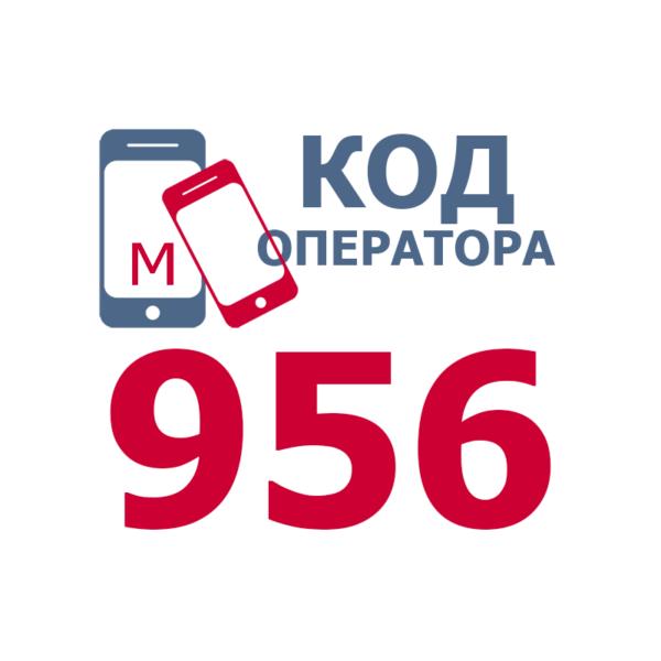 Российские операторы мобильной связи, использующие код 956