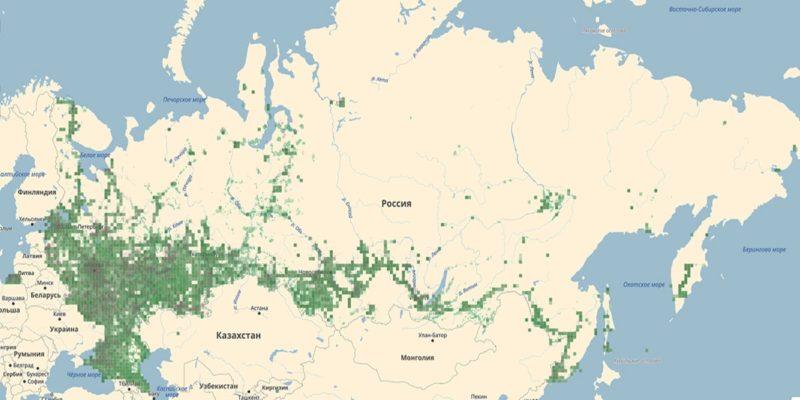 Карта покрытия 3g в России