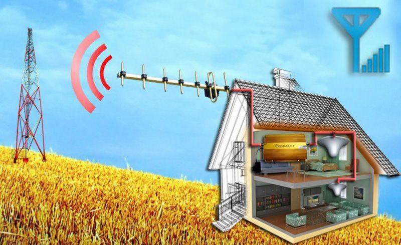 Как усилить сигнал сотовой связи и интернета на даче